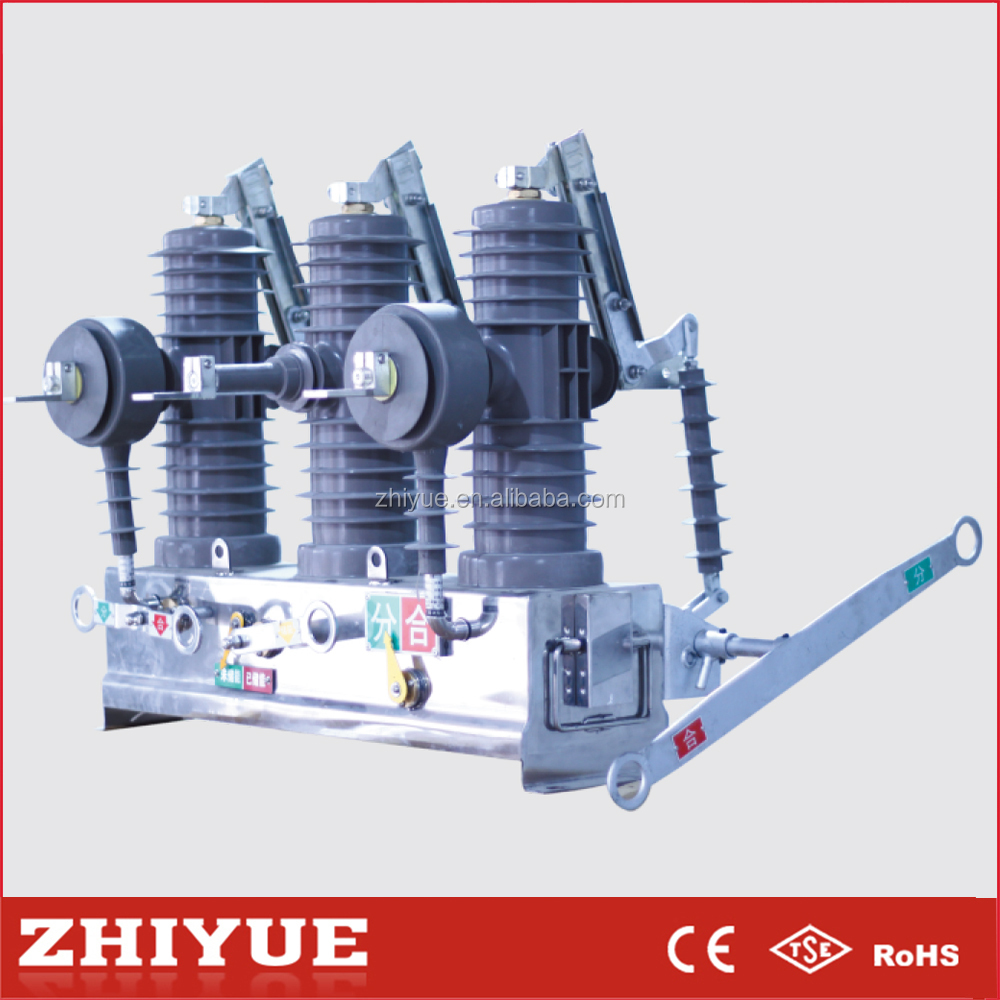 china ZW43 automatic recloser high voltage 24kv 400a vacuum circuit breaker