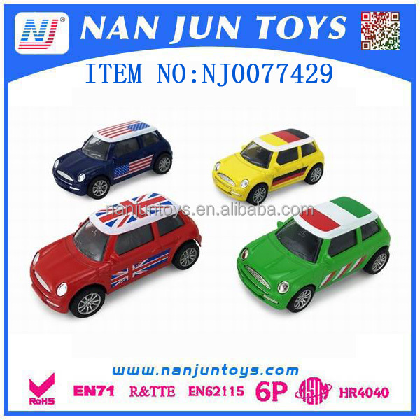 1:43 model Alloy Cars diecast mini classic pullback car