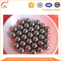 Yuanke 6.35mm 7.938mm 9.525mm 12.7mm 15.875mm 19.05mm solid carbon steel ball