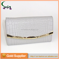 FD1014 Wholesale Serpentine Waterproof Leather Ladies Clutch Handbag Purses Handbag