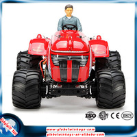 Strong nylon plastic rc 1:10 Off Road buggy go kart,Remote Control toy Tractor with Rubber tire