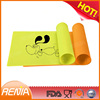 RENJIA outdoor dog mats dog crate mat silicone dog placemats