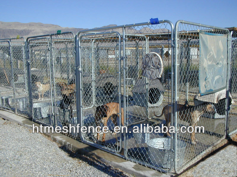dog kennel cages hot dip galvanized zinc