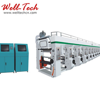 New Type Automatic packaging plastic gravure printing machine Grade Rotogravure Printing Machine