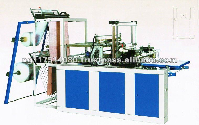 Double Layer Film Sealing & Cutting Machine
