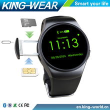 Christmas Promotional Gift 2016 Wholesale 1.3 inch IPS Bluetooth WristWatches Sports MTK 2502 IOS Smart Watch Phone