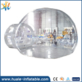 2017 Huale inflatable transparent bubble tent for camping dome tent