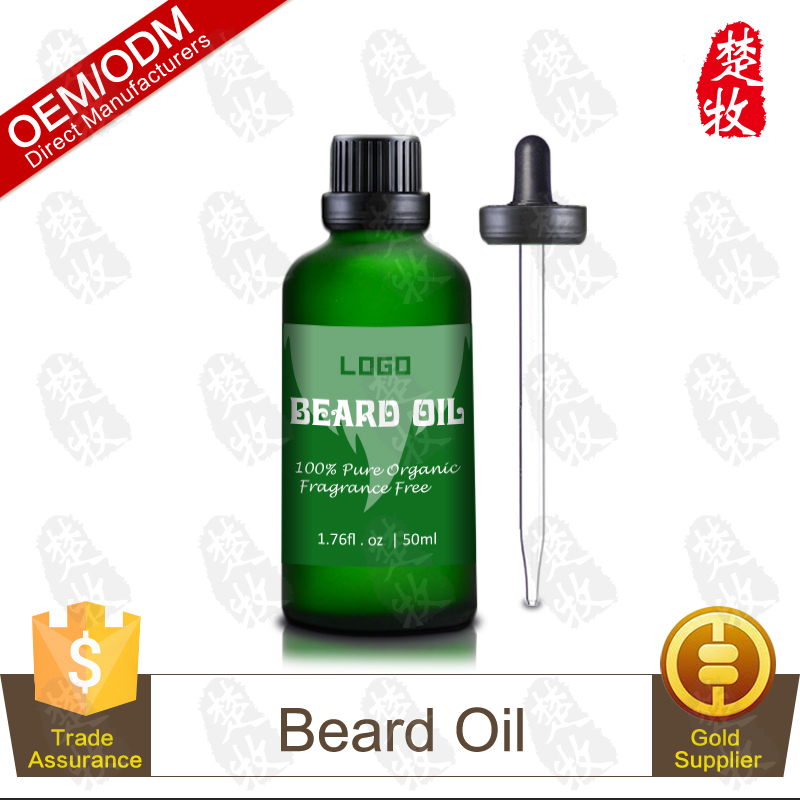Chinese Manufacturer Supply Natural Sandalwood and Peppermint Beard Oil for Men 50ml