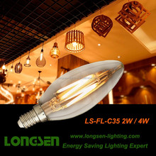 Filament LED BULB C35 A60 G80 G95 G125 T30 ST64 2W/4W/6W/8W Decoration Bulb