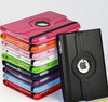 360 Degree Rotatable Smart Case for Ipad mini1/2/3,for Ipad mini Stand Cover ,PU Leather Tablet Case