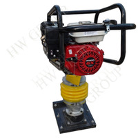 gasoline soil tamping rammer with Honda GX160