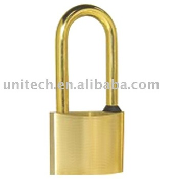 lock,solid brass lock with seal