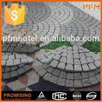 Cheap granite landscaping garden patio paving stone