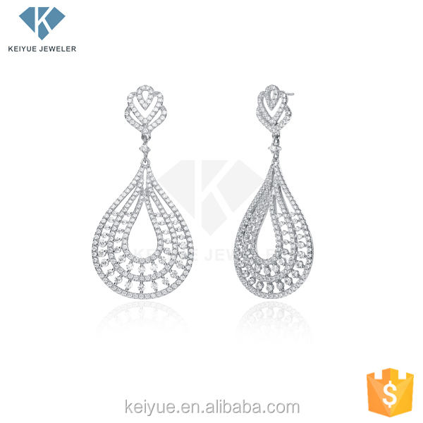Egyptian Symbols white latest ladies hanging earrings designs pictures for women jewelry