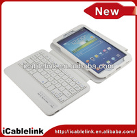 "Bluetooth Keyboard case /Removeable wireless keyboard Cover For Samsung Galaxy Tab 3 T310 T311 T315 7"" 7.9"" 8"" inch"