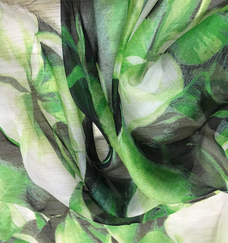 pure silk fabric 100%silk chiffon fabric