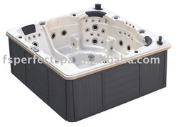 Spa Hot Tub Spa Outdoor massage spa bathtub massage finishing material