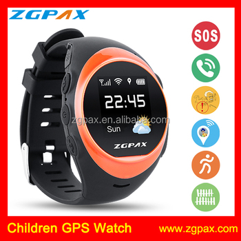 ZGPAX S888 elder and kids watch tracker,gps tracking watch with wifi tracking