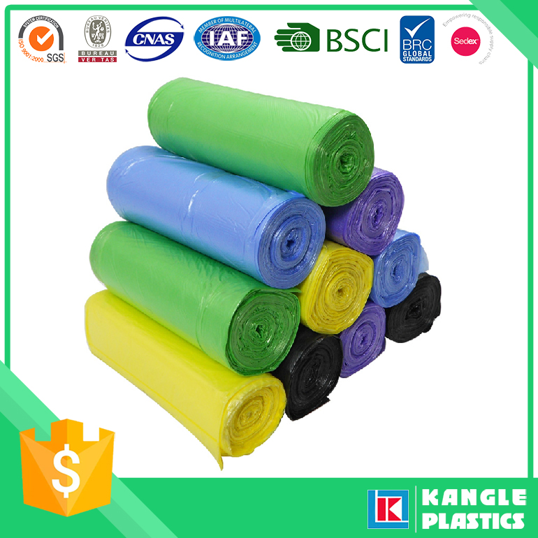 plastic eco friendly oxo biodegradable garbage bag