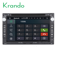 "Krando Android 7.1 7""car radio gps stereo for vw golf PASSAT B5 1995-2003 multimedia dvd player KD-VW795"