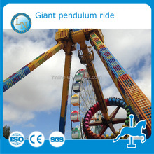 Extreme funfair ride 24 seats amusement big swing pendulum