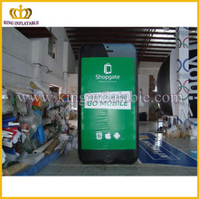 Guangzhou inflatable model, product advertising replica, customized inflatable Iphone