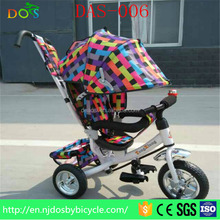Portable convenient folding rolling factory customize good quality kids tricycle for sale