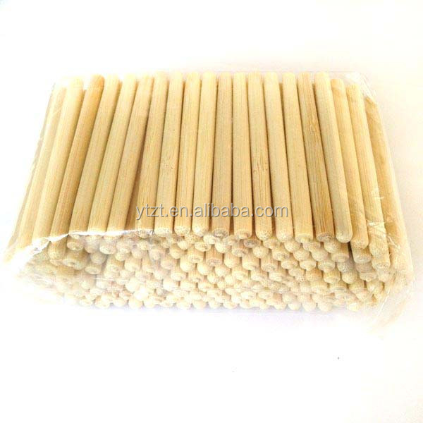 High Quality pork 23cm custom printed paper/plastic wrapped bamboo chopsticks made of good quality sanitary bamboo