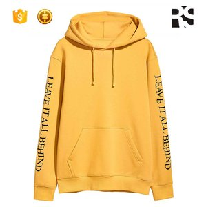 Men's Hooded Sweatshirt Wholesale Custom Fleece Pullover Hoodie