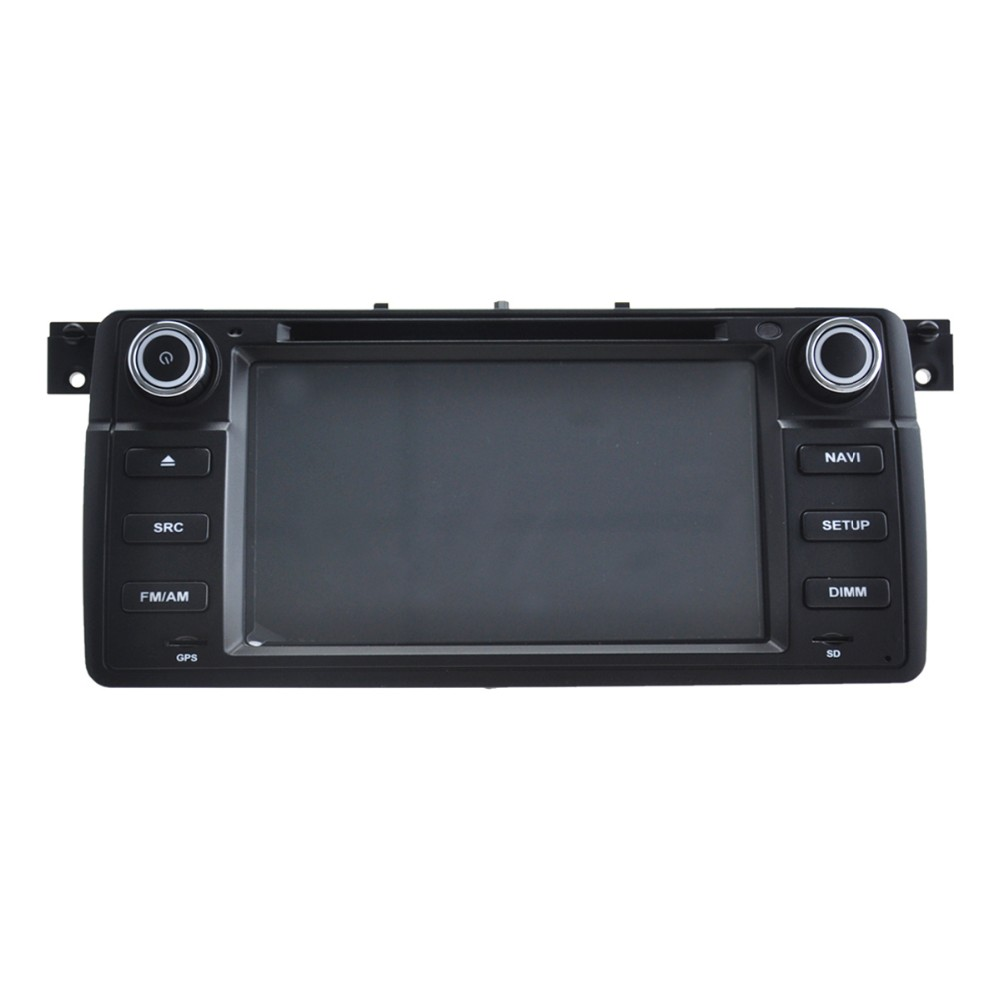 Quad Core 1024*600 Android 5.1.1 car dvd radio GPS navigation stereo for E46 1998-2006 hot selling