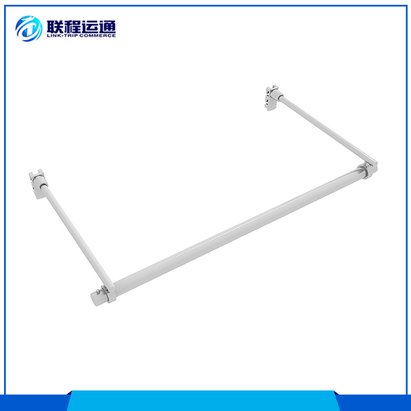 Support side arm zinc alloy retail showroom towel display furniture