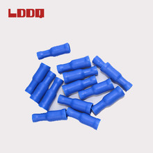 Bright blue color bullet shaped terminal wire insulated terminal for wire connection