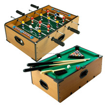 mini cheap games children's foosball soccer table/pool table /billiard table