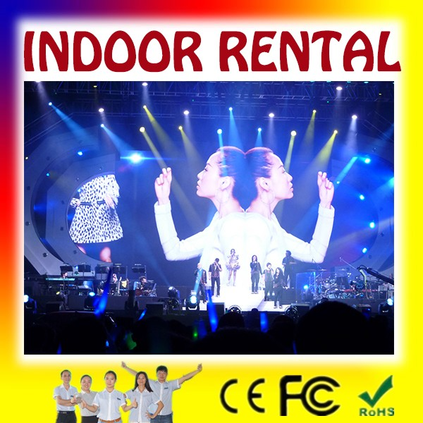 image moving led display/32 inch led lobby tv display/Indoor Rental LED display