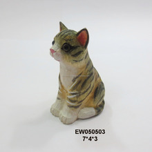 hot sale carved wooden cat