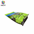 Flat Bottom Plastic Pet Dog Cat Food Packaging Bag With Zipper