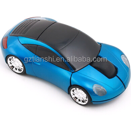 Cheapest Computer Ultra Slim Ferrari Car shaped wireless mouse