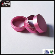 China OEM pink anodised aluminum spare machining parts