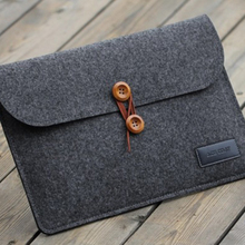 100% ployester laptop sleeve make felted wool bag wool felt fabric bags