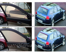 transparent-opaque Electric privacy pdlc smart glass film for car tint window