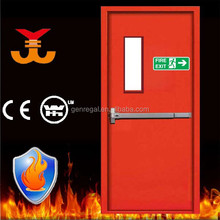 BS 476 90mins steel fire door with glass insert