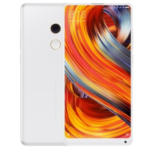 Dropshipping Original High Quality White Xiaomi MI MIX 2 Smart Cell Phone 8GB 128GB EMUI 8.0 Celular Xiaomi 4G Mobile Phones