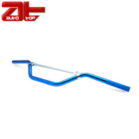 Custom Alloy Riser Motorcycle Handlebar,22mm Blue Aluminum for Dirt Pit Bike,,Aftermarket handle bar For Motorcycle