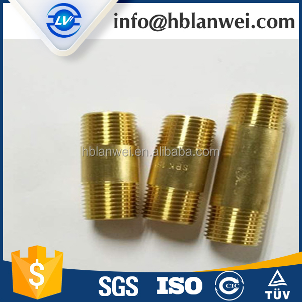 chrome plated pipe extension fitting,brass extension nipple