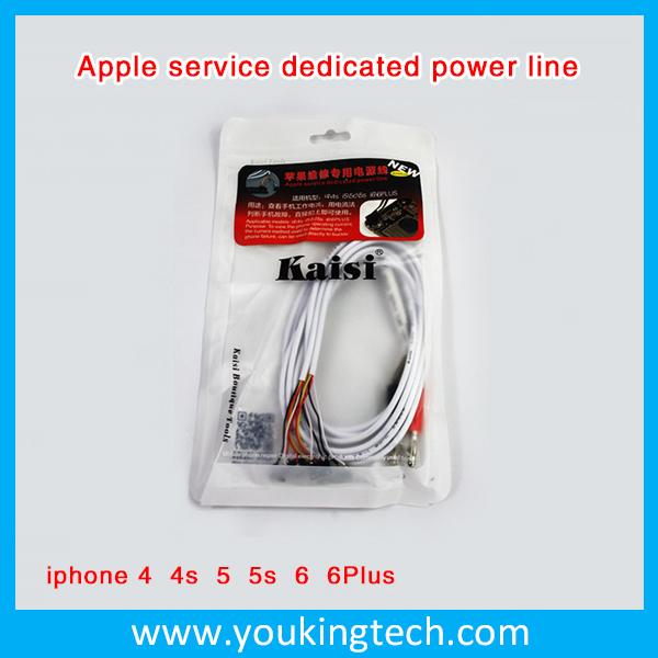 Power Cord Flex Cable Mainboard Test Wire Repairing Line For iPhone 4 4s 5 5s 6 Plus