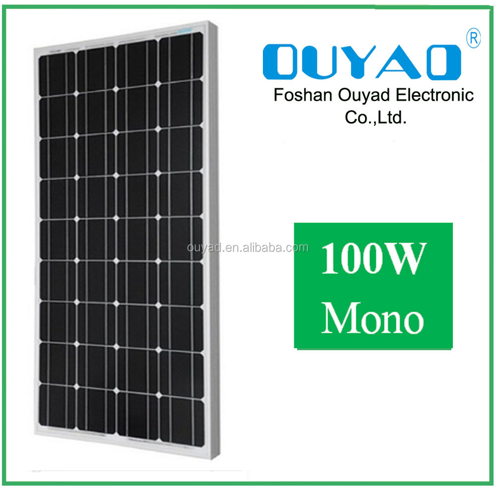 100 watt solar panel price list , 100w 12v solar panel kits solar pv modules