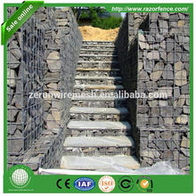anping cheap erosion control pvc hexagaonal woven maccaferri gabion mesh planter rock baskets 2x1x1