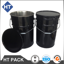 25kg tinplate packaging bucket open head,customized adhesive barrels manufacturers,25 liter industrial paint pail