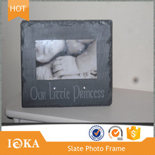 2x2 Slate Picture Photo Frame for Baby,Lover,Family