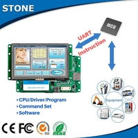 5 inch Mini TFT LCD Monitor with Command Set&Software